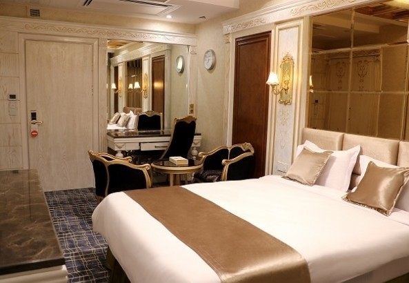 Room size and quality in Hotels of Iran
