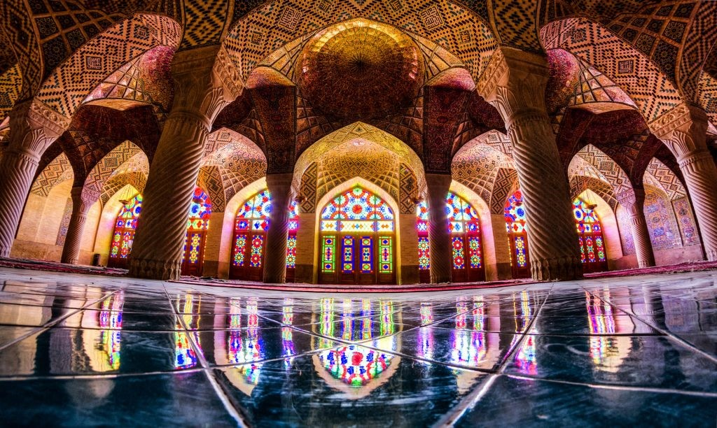 Nasir-ol-molk mosque of Shiraz