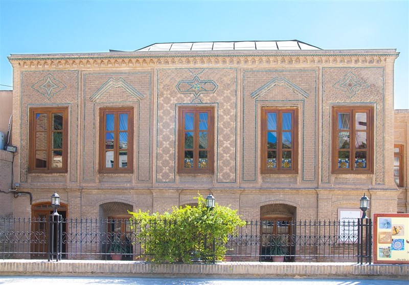 historical Malek House in Mashhad