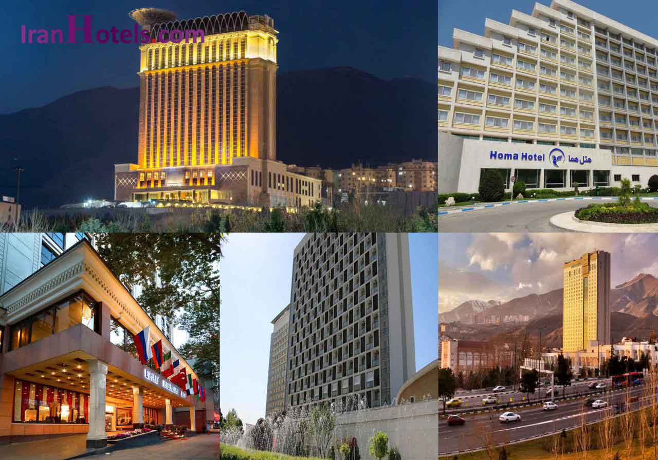 5 Star Hotels in Tehran